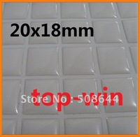 10000 20x18mm 3d Epoxy Dome Scrabble Tile Seals DIY Altered Art epoxy sticker 20x18mm free shipping