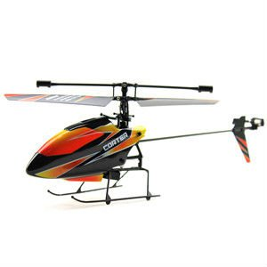 WL V911 single paddle 2.4G, 4 channel RC remote control Helicopter, NEW Versions 24cm, free shipping, BNF