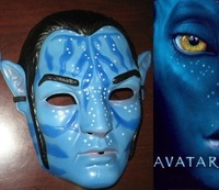 Lot 30 Avatar Mask   (One Size Fits All) for Children or Adult Male or Female Party / Halloween l/ Movie Gifts Free Shipping