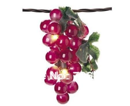 Grape String Party Lights : Free-shipping-5-PCS-UL-110V-1M-100L-Purple-LED-Grape-Lights-String.jpg