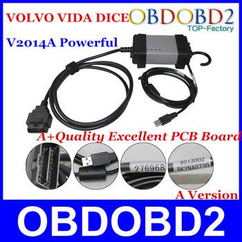 New Professional Powerful Interface Volvo Vida Dice  Newest 2014A Pro Dice Vida Powerful Function Auto VOLVO DICE CNP Free