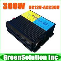 Free Shipping, High Efficiency, DC to AC 300W Off Grid Inverter DC12V/24V/48V Pure Sine Wave Inverter, Solar Wind Power Inverter