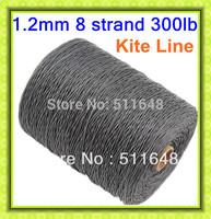 Free Shipping 500M/Piece 300LB Dyneema Braid Line Spectra Kite Line 1.2MM super power