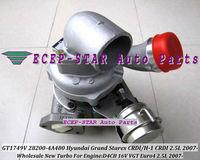 GT1749V 28200-4A480 53039700145 53039880127 BV43 Turbocharger For HYUNDAI H-1 Cargo Travel;Grand Starex CRDI 2007- 2.5L D4CB 16V