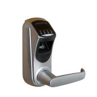 HF-LA601 High Secure DIY Biometric Door Handle Gate Opener Home Safe Electric Lock Keyless Fingerprint Door Lock