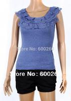 Free shipping the new spring clothing lace condole belt vest condole belt vest render unlined upper garment#5191
