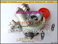 GT2056V 767720-0004 767720 14411-EB70A 14411-EB70C Turbo Turbocharger For NISSAN Navara D40 06 Pathfinder R51 YD25 YD25DDTi 2.5L