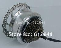 "26"" electric bike BLDC hub motor MWH (6-9speed &disc brake)"