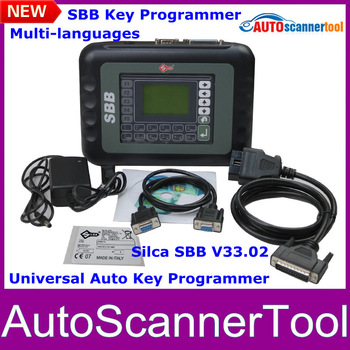 2014 New Arrival SBB Key Programmer V33.2 Silca SBB Auto Key Tool With Multi-language Free Shipping