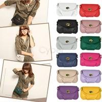 New Fashion Women's Purses Handbags Satchel Shoulder PU Leather Messenger Bag Cross Body Bags Christmas Gift 5703