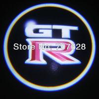 7W CREE LED CHIP car led door light for laser led logo light waterproof for GTR  SRT8 Best Quality 1 year Warranty