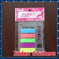 [FORREST SHOP] Cute Cartoon Mini Memo Pad Sticky Note / Bookmark Sticker / Kawaii Scrapbooking Stickers / Index Stickers NS-777