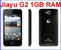 In stock !!! Free Shipping Dual Core  1Ghz CPU JIAYU G2 JY-G2 with 4GB ROM+1G RAM and 2pcs battery