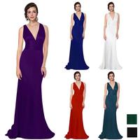HE09008 Elegant Sexy V Neck Evening Dress for christmas