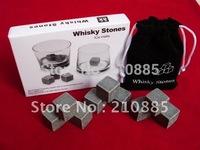 wholesale whisky rocks,whisky stones,beer stone,wiskey ice stone 9pcs/set with retail box