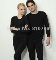 On Sale Top Selling A Set New Mens Winter Crew Neck Warm Pants Thickening Long Johns Thermals Underwear L-3XL Free Shipping