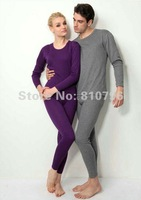 Sale High Quality A Set Mens Womens Winter Intimate Warm Shirts Pants Thickening Long Johns Thermals Top Underwear Free Shipping