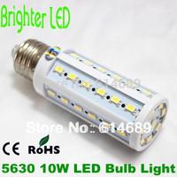4pcs/lot  E27 10W LED Lamp  5630 44SMD 360 Degree Corn Bulb AC110V/220V