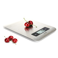 Digital Food balance Kitchen Weight Scale with Super slim Stainless Steel Platform and 5kg Capacity