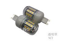 5Pcs/Lot SMD 5050 27 LED 200-240V LED Spot Light 4.5watt G9 Bulb Lamp Cold white / Warm White 360 Degree Free Shipping  1#