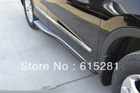 CRV 2012 Side step  bar running board ,Aluminium alloy,Automobile Accessories Decoration,Free Shipping