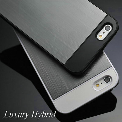 22 Colors Brushed Aluminum Hard Moblie Phone case for iPhone 5 5S 5G Luxury Metal Back Cover, Free Screen Protector(China (Mainland))