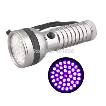 D62UV-1-10-1UV  flashlight led ultraviolet UV led light torch 2 switch mode uv leak detector free shipping