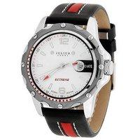 Hot Sale Korea Brand JULIUS Fashion Luxury Quartz Watch Round Waterproof Calendar Sports Casual Leather Strap Men Watches 007