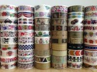 1459 ! Free shipping Lovely self-adhesive Tape, DIY mt  Masking Tape ,Japan rice paper, scrapbook ,  30pcs/Lot