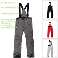 C201B2-04 unsex double layer EU size  XS to 3XL brand  high quality skiing pants/snow sport pants EMS $10up