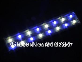 Hottest!!! LED Lights Coral Reef 48w CREE Aquarium LED Lighting  Heatsink Aluminum 3w Leds LED Fish Tank Light   Aquatics