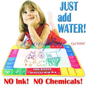Free shipping  In Stock  5pcs/Lots 72X49cm CP1325nc Big size  Magic Water Doodle Mat with 1 Magic Pen/Water Drawing t Mat
