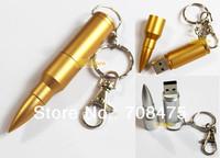 Bullet Style Metal USB Drive 1GB 2GB 4GB 8GB 16GB 32GB for Choices Thumb Stick Memory Flash Pendrives Free Shipping