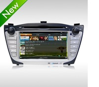 Pure Android 4.1 Car DVD GPS Car PC Headunit for Hyundai IX35 Tucson 2010-2013 WIFI 3G 1080P 1GHZ CPU Capacitive