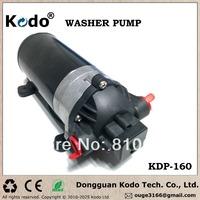 KDP-160 series rated voltage DC 12V 160psi 11bar electric food grade high pressure diaphragm pump