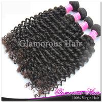 8''-34'' Mixed size 3pcs/lot 100% Malaysian Virgin Hair Deep Wave Natural Color 1b