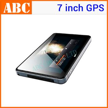 Car GPS 7 inch HD Bluetooth AV-IN 4GB Navigation System+2.4G wireless Reversing Camera with free map(a lot=1pcs gps+1pcs camera)