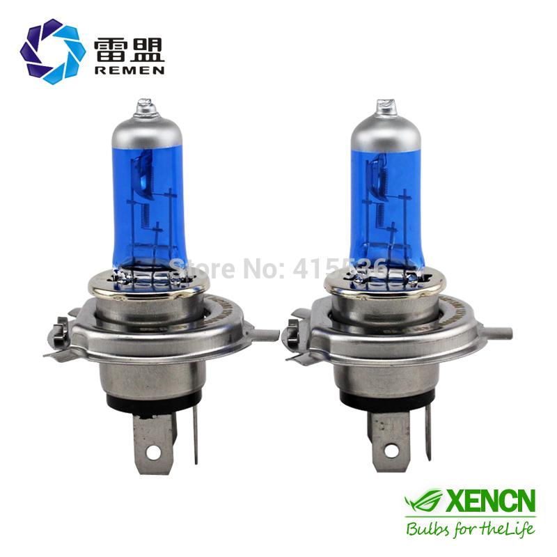 Remen h4 4300k 9003 fari allo xeno auto lampadina alogena super white 12v100/90w uv auto lampadina