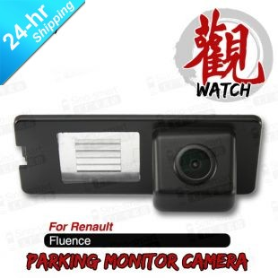 Fast Shipping High Quality Wireless HD CCD Car Parking Rearview Reversing Camera for Renault Fluence etc.Night Vision Waterproof