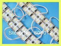 LED light module SMD 5630 LED module light 4 led DC12V IP66 stainless steel superbright Fedex free shipping