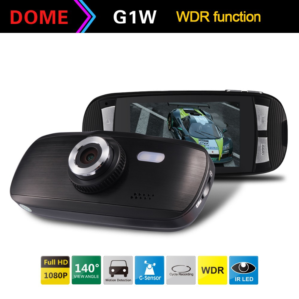 "Blackview G1W Car DVR 100% Original Full HD 1080P 30FPS 2.7"" LCD Car DVR Recorder with G-sensor+WDR H.264 Freeshipping(China (Mainland))"