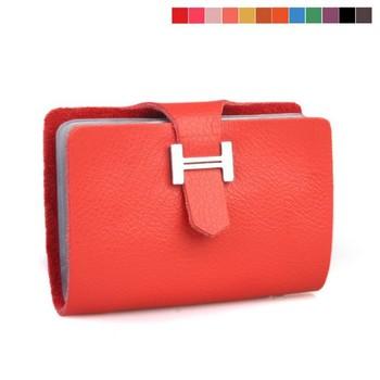 100% Genuine leather card holder ,  card case wallet cc02