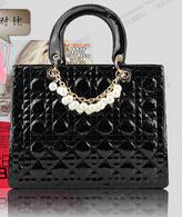 FREE SHIPPING designer handbag with beautiful pearl fashion pink leather handbag for women candy bag jelly fashion handbags