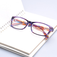 (8806) Full rim fantastic acetate toughness fashion novelty  nerd glasses designer Mix color OK