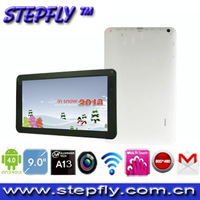 free shipping (SF-BM901B) All winner A13 android 4.0 tablet pc 9 inch  five point muili- touch capacitive