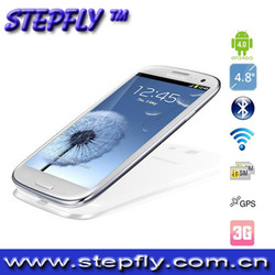 (SF-N9300+) feiteng i9300 4.8 inch HD capactive touch screen android MTK 6577 3G phone 24 hours to deliver goods free shipping(China (Mainland))