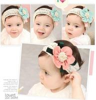 Girls Sweet chiffon Flower Headwear, headband for baby girls hair decoration Lace Hair Band, flower Baby headband Hairband