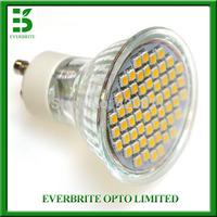 High brightness 6W SMD3528 GU10 LED spotlight lamp AC200-240V,4pcs/lot for home lighting
