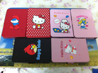 hello kitty cartoon universal adjutable Leather Case Cover Stand for 7 inch Tablet PC for Q88 PIPO S1 novo 7