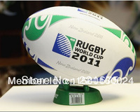 Free shipping  standard size 5 Gilbert Rugby ball Rugger The World Cup in New Zealand hand sewing